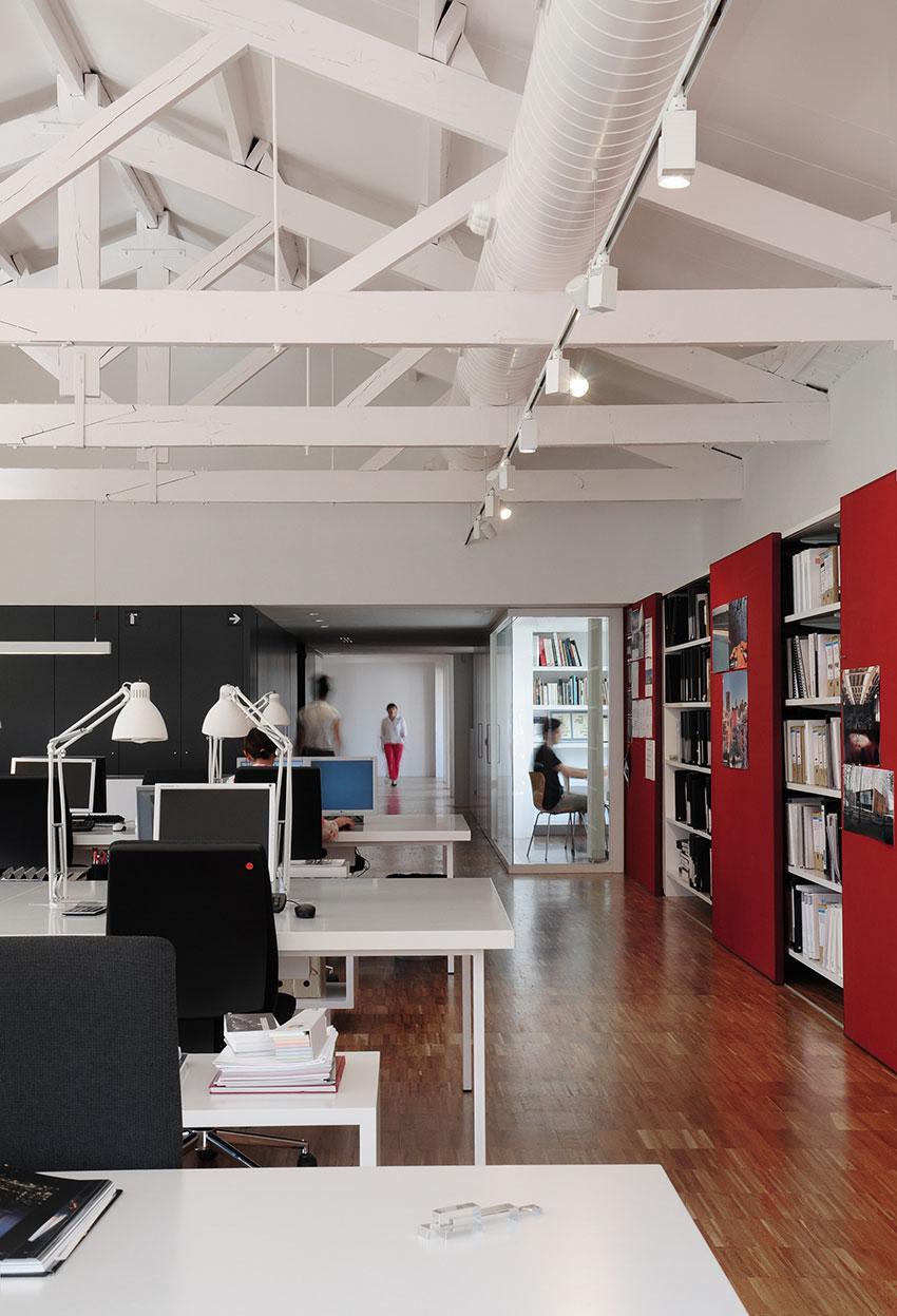 Parquet industrial industrial parquet bcq arquitectura - Despacho arquitectura barcelona ...