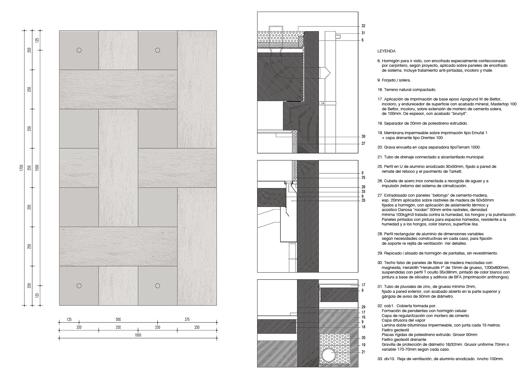 Hormigu00f3n texturado u00b7 Textured concrete : vora arquitectura : docomop